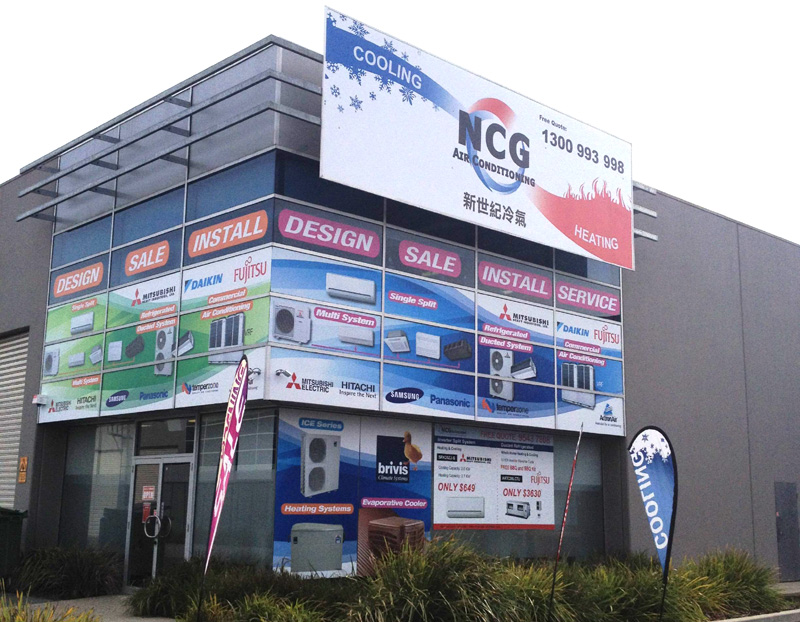 NCG Oakleigh Showroom