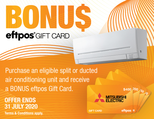 Mitsubishi Electric's 2020 Winter Gift Card Campaign